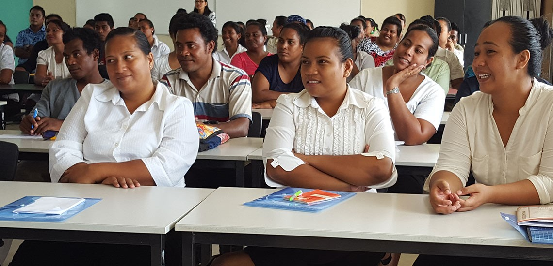 iKiribati workers at PTI-MULPHA workshops